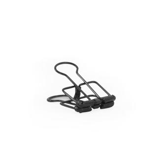 Binder clip zwart