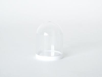 Mini globe met witte onderkant