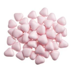 1kg minihartjes roze